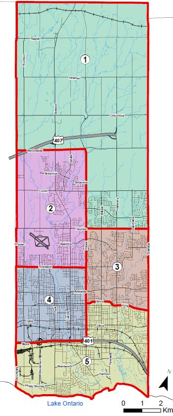 Proposed ward option 5A