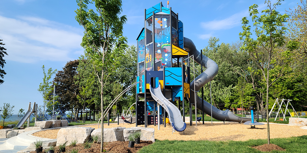 Lakeview Park play structure