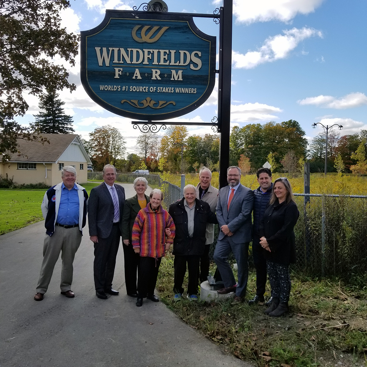 Windfields Farm Sign