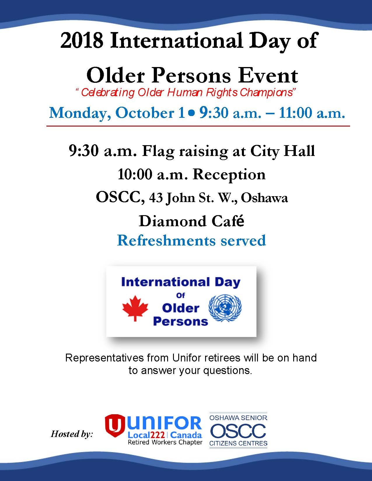 Int'l Day Older Persons event