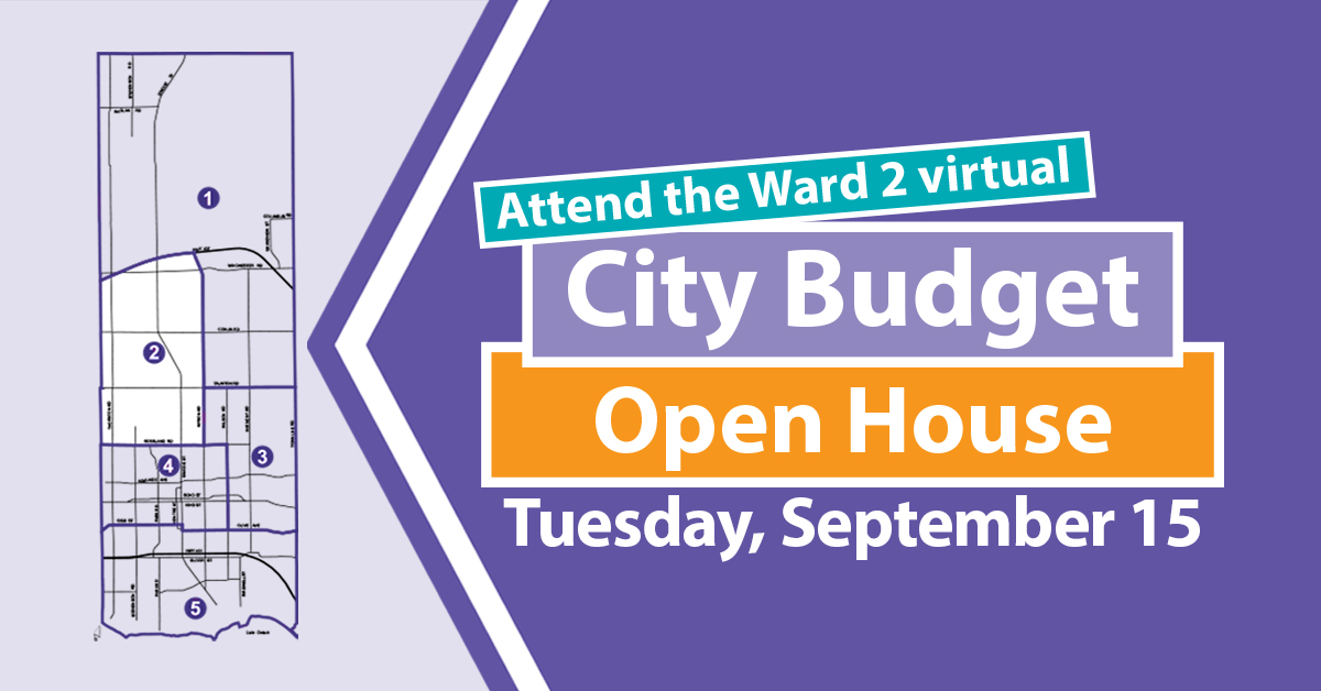 Budget Open House Ward 2