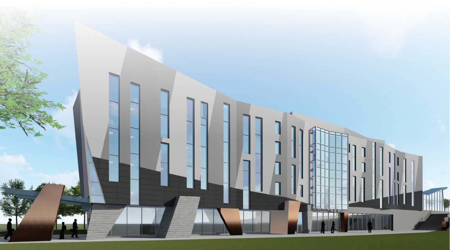 Trent University Durham GTA - New Building