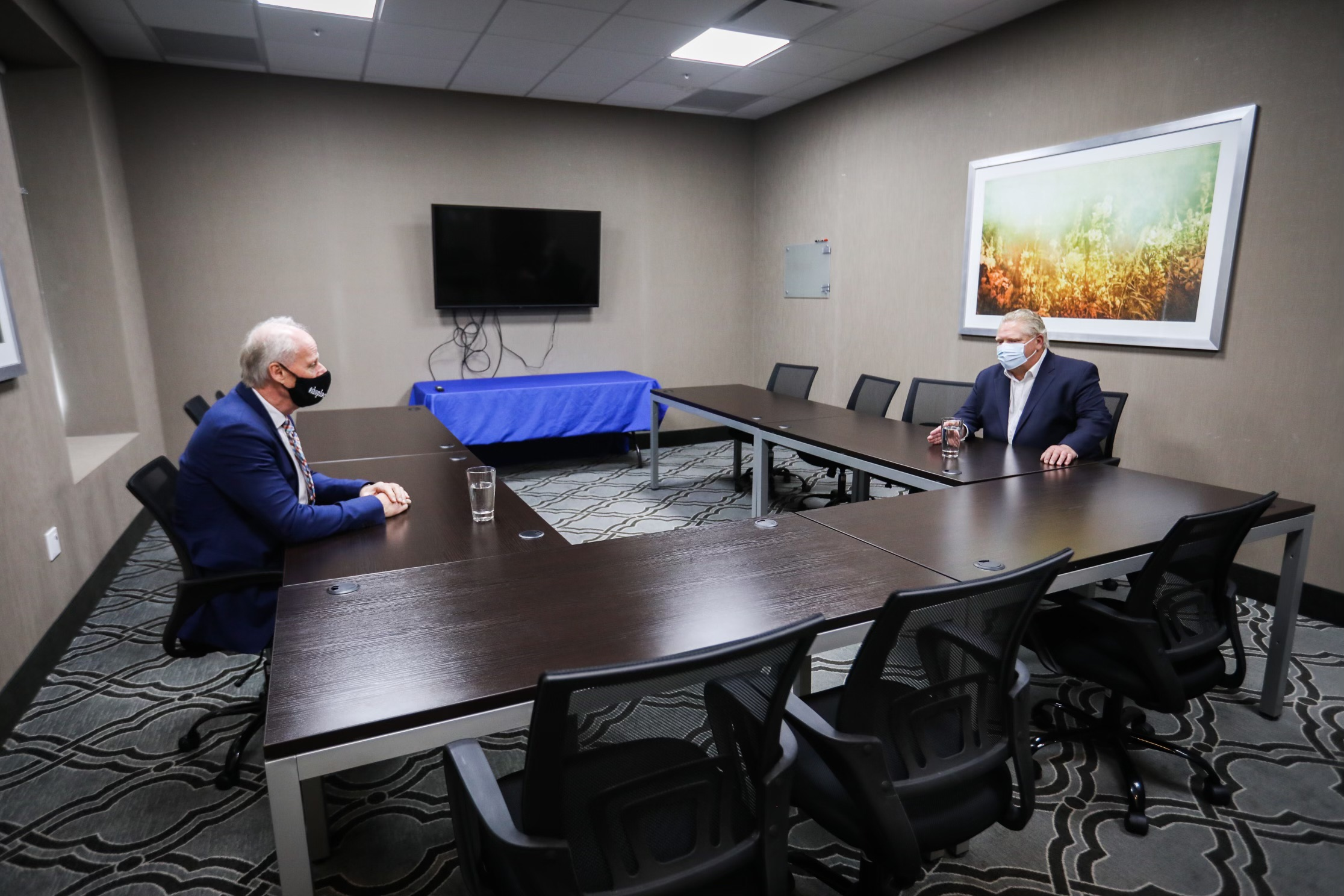 Mayor Carter meets with Premier Doug Ford