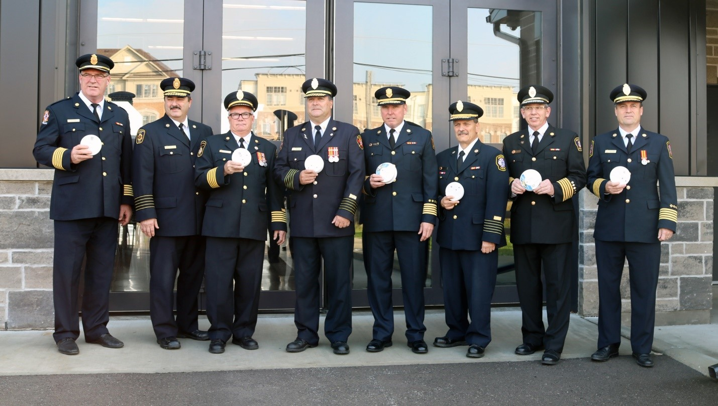 Durham Fire Chief's launch Fire Prevention Week