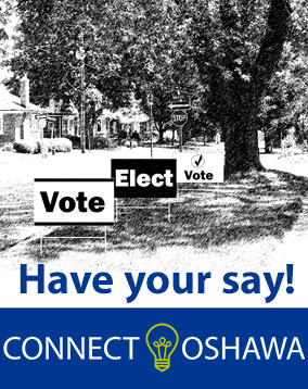 Have your say, on the Election Signs By-law Review.