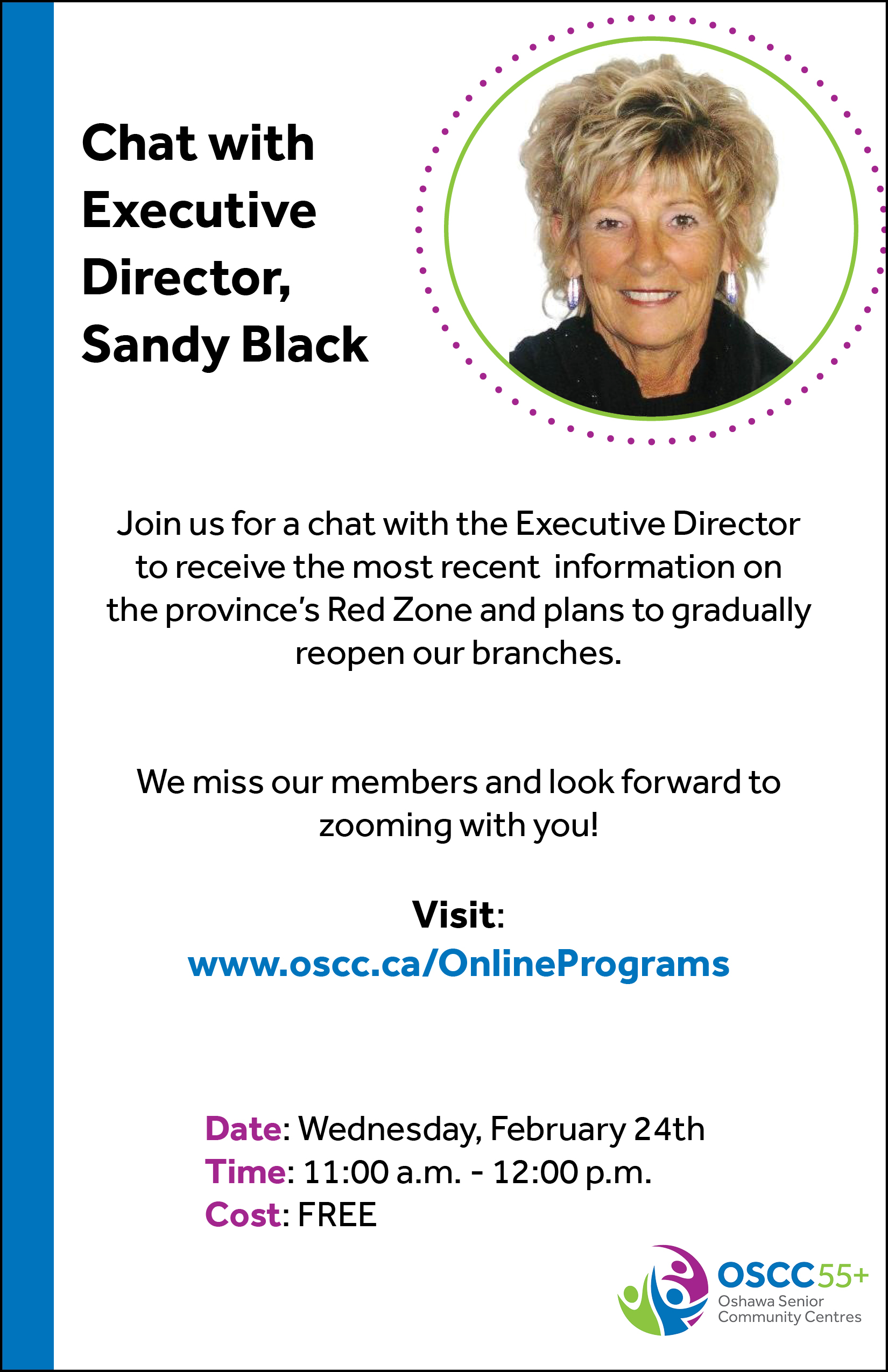 Chat with Sandy Black